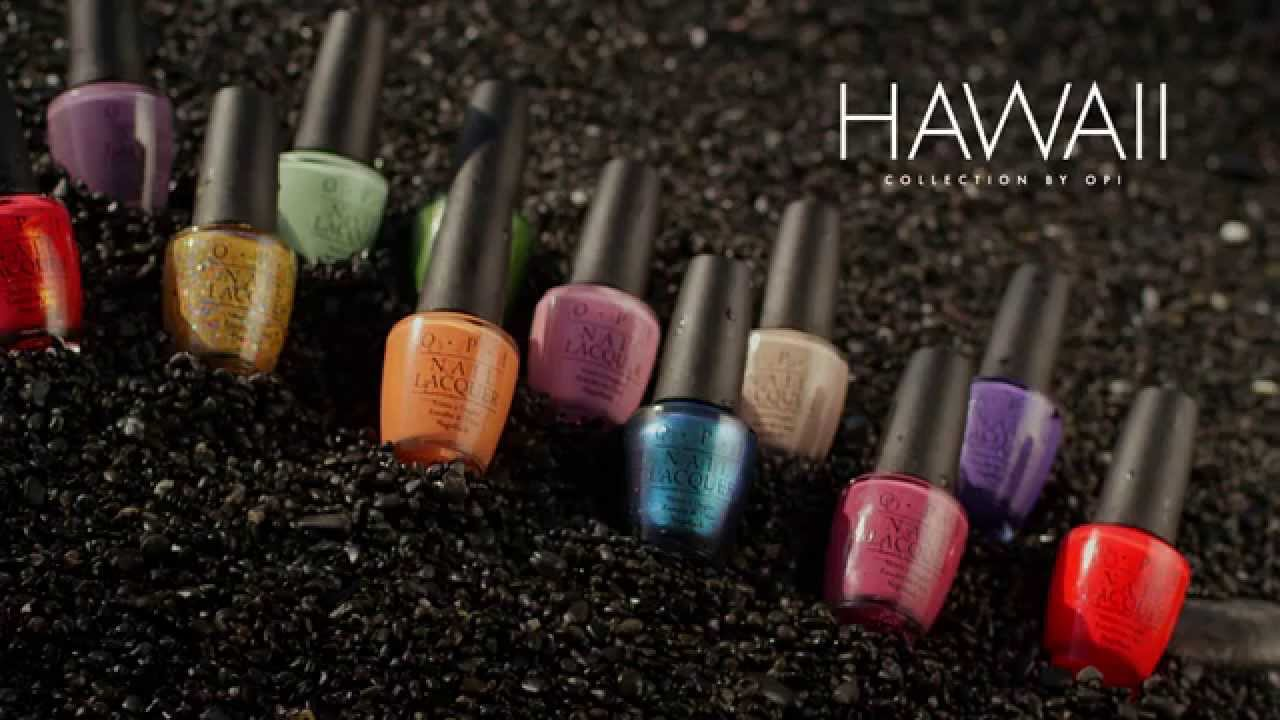 hawaii collection by opi spring 2015 youtube
