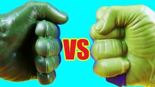Hulk Family Vs Hulk Family ! Mega Battle ! Superhero Toys