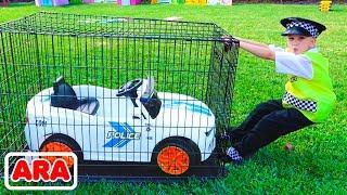 فلاد يتظاهر بأنه شرطي ويفقد سيارته
