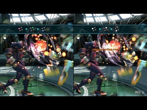 Tekken Tag Tournament 2 Wii U Vs Ps3 Comparison Video Youtube