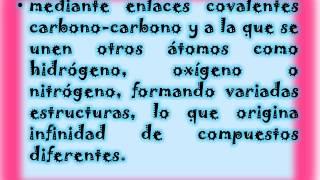 TIPOS DE CADENAS CARBONADAS