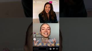 Danielle Bradbery Talks to Hannah Corbin + One Peloton on IG Live 10/13/2020
