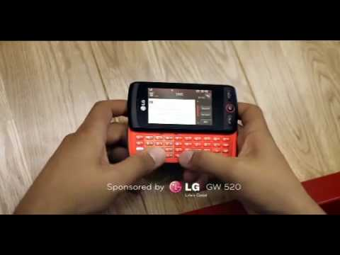LG GW520 3G 5sec Out