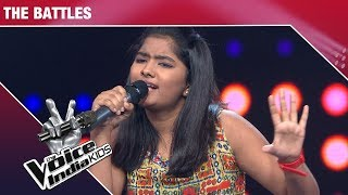 Pihu, Laxmi and Shruti Performs on Darling   The Voice India Kids   Episode 11