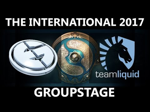 EG vs Team Liquid GAME 1, The International 2017, Team Liquid vs EG