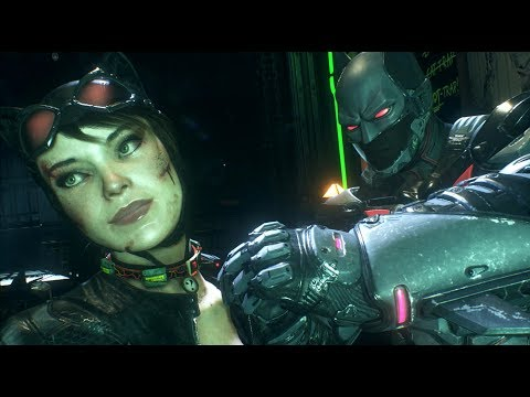 Batman: Arkham Knight (PC)(Batman Beyond Walkthrough)[Part 4] - Creature of the Night [1080p60fps]