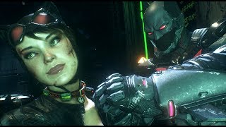 Batman: Arkham Knight (PC)(Batman Beyond Walkthrough)[Part 4] - Creature of the Night [1080p60fps]