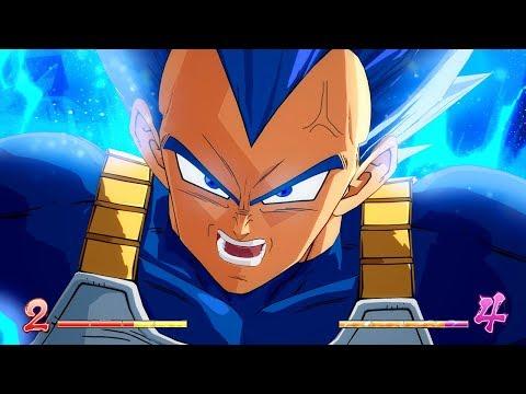 Dragon Ball FighterZ - BEYOND SUPER SAIYAN BLUE VEGETA! MODS Gameplay