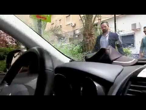 Así fue el saludo de Abascal a una patrulla de la Policía Nacional en Murcia