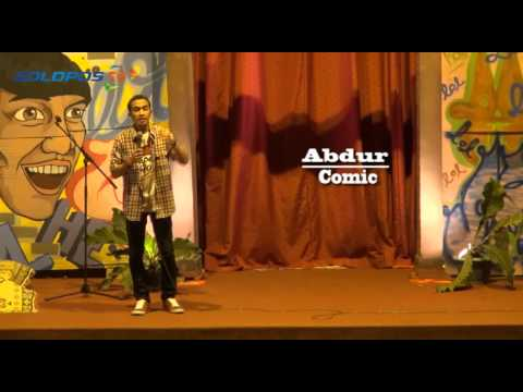 Stand Up Comedy: Abdur @ UNS Solo (Part 4)
