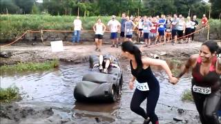 Blueberry Stomp Mud Run at Keel and Curley Winery Falls