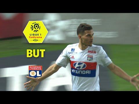 But Valentin ROSIER (50' csc) / Dijon FCO - Olympique Lyonnais (2-5)  (DFCO-OL)/ 2017-18