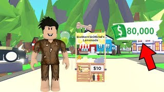 I PRETENDED TO BE POOR AND I GOT RICH AT ADOPT ME-ROBLOX