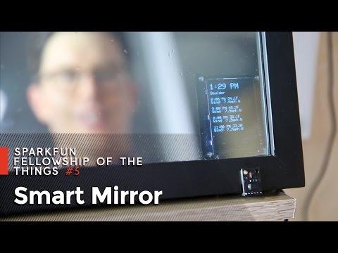 SparkFun Fellowship of the Things Apartment #5 - Smart Mirror