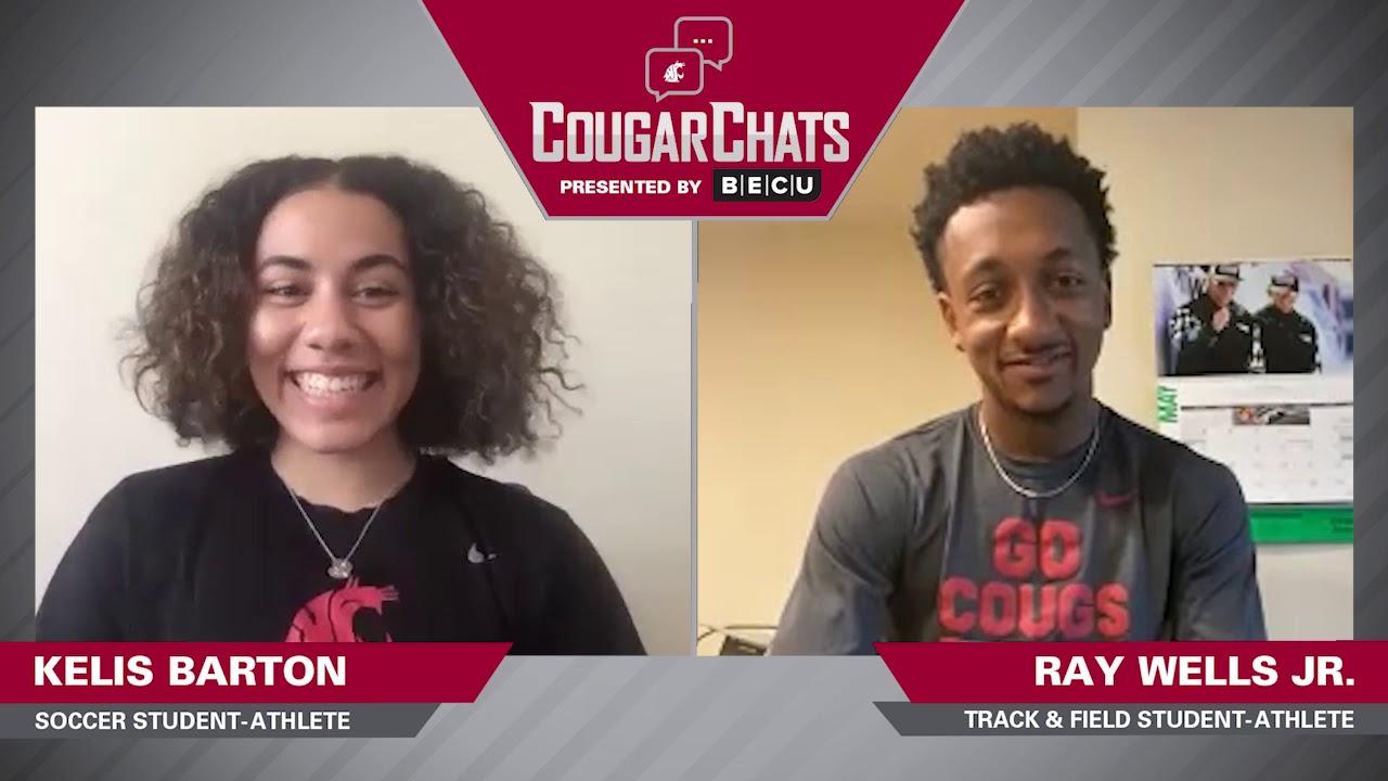 Image for WSU Athletics: Cougar Chats with Kelis Barton and Ray Ray Wells webinar