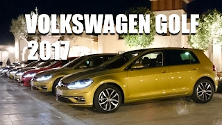 Volkswagen Golf 2017 1.5 TSI evo, GTD, GTI (ENG) - First Test Drive and Review