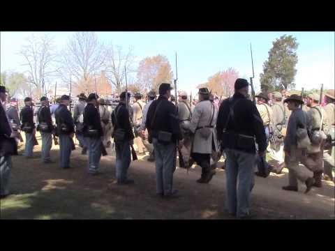 APPOMATTOX 150 11 AM STACKING OF ARMS