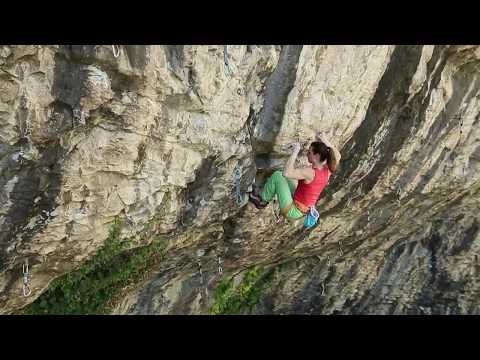 Le Bronx, 8x+, and Ma belle ma muse, 8c+/9a, by Anak Verhoeven