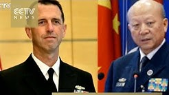 Top US, Chinese naval officers hold video talks