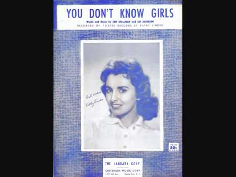 Kathy Linden - You Don't Know Girls (1959)