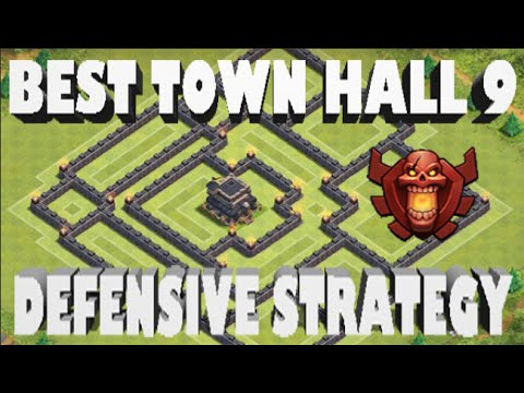 Clash of Clans- BEST Town Hall 9 Defensive Strategy! - YouTube