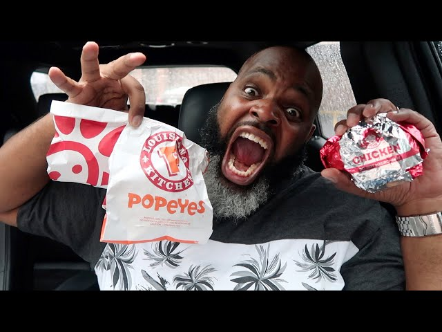 Popeyes vs Chick fil A Chicken Sandwiches vs Wendys | SMASH or PASS?