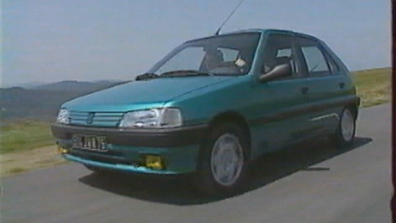Peugeot 106 Test Essai Reportage Fr 1992 Youtube