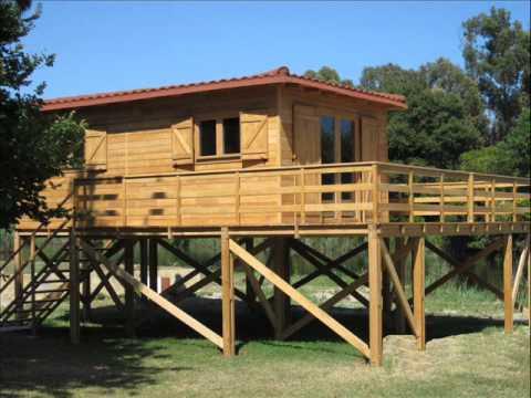 Casa de lemn pe piloni. hd stil in colaborare cu www ...