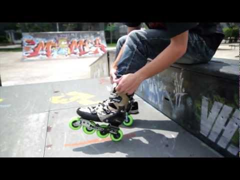 Freestyle Slalom Skating - Daniel Tan