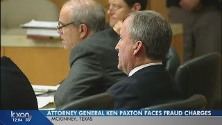 Attorney General Ken Paxton back in court over fraud charges
