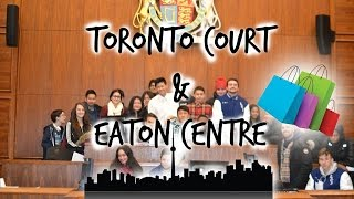 Weekly Vlog- Toronto Court & Eaton Centre [HD] Thumbnail