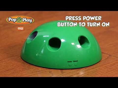 Pop N Play Interactive Cat Toy Tips Video