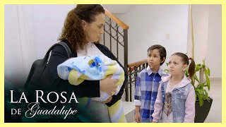 La Rosa de Guadalupe: Lucero y sus hermanos son llevados a un orfanato   Volver a ver el cielo