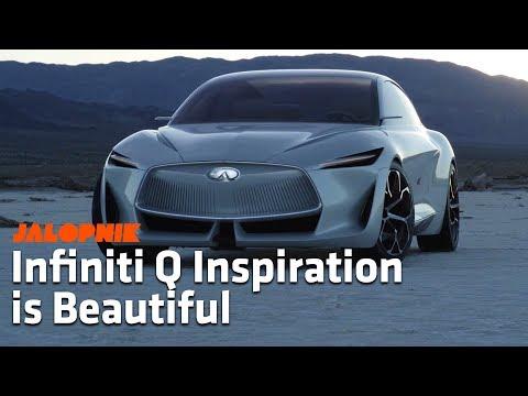 The Infinti Q Inspiration is a Beautiful Concept Car   Detroit Auto Show