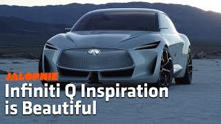 The Infinti Q Inspiration is a Beautiful Concept Car | Detroit Auto Show