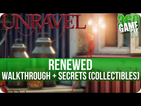 Unravel - Chapter 12 (Renewed) Walkthrough incl all Secrets (Collectible Locations)
