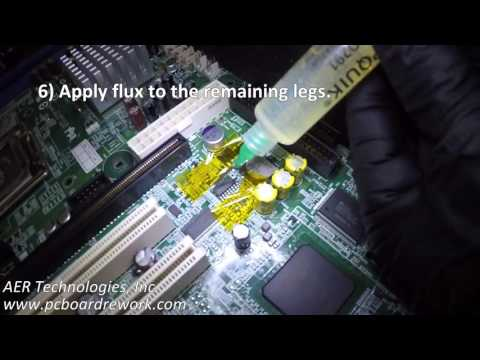 Surface Mount Component Removal & Installation