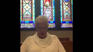 Daily Reflection with Parish Nurse Jean Hoover