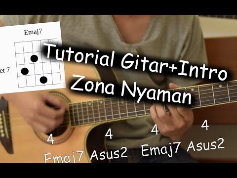 Belajar Gitar  (Zona Nyaman - Fourtwnty)