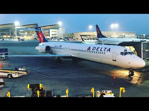 Delta Airlines Boeing 717 Trip Report: LAX-PDX