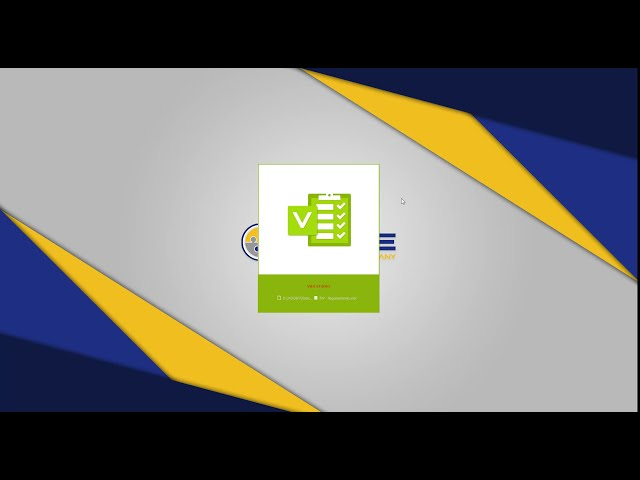 V&V Demo Custom Excel