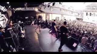 Stick To Your Guns  - Empty Heads, The Bond .... Live SummerBlast Festival Trier 2014 GoPro