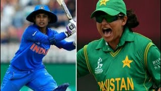 India vs Pakistan women ICC 2017 Highlights HD- women cricket