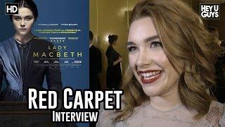 Florence Pugh - Lady Macbeth - Critics Circle Awards 2018 Red Carpet Interview