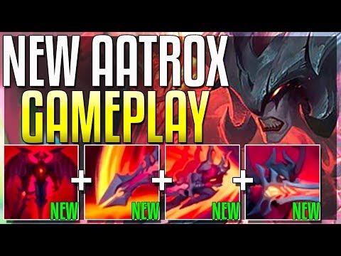 *NEW* AATROX REWORK IS NUTS WTF HAS RIOT DONE?? LOL - Aatrox Rework Gameplay - League of Legends