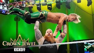 Erick Rowan sends Drake Maverick into orbit: WWE Crown Jewel 2019 Kickoff