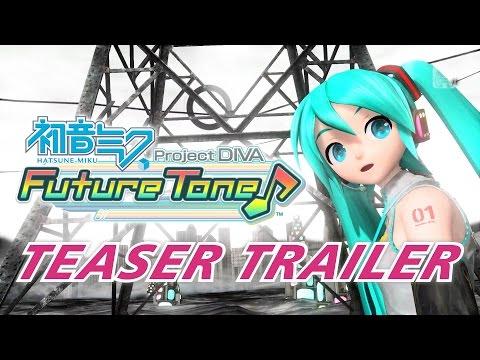 Hatsune Miku Project DIVA Future Tone Teaser