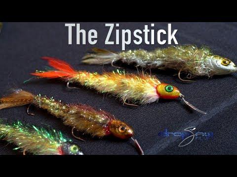 Fly Tying Tutorial; Drop Jaw Flies Zipstick