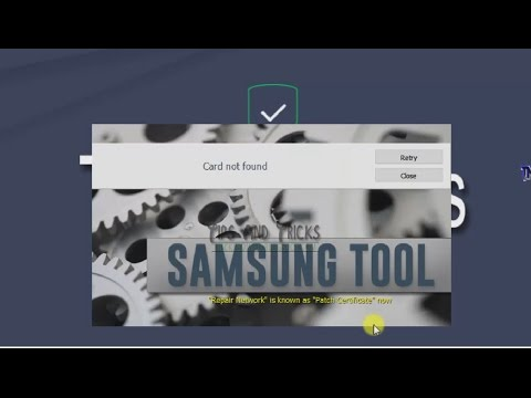 Program Not Unpacked - Card Not Found Fix | Z3x v24.3 Samsung Tool Pro Free Version (Cracked)