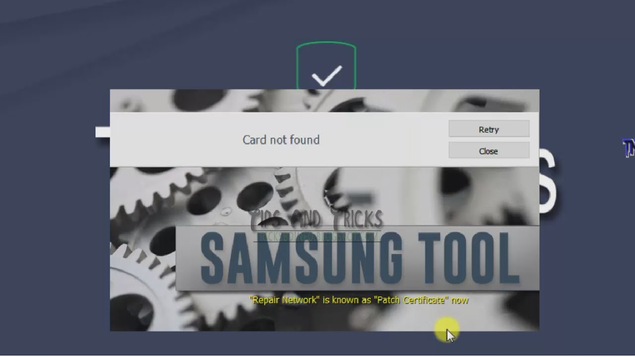 Program Not Unpacked - Card Not Found Fix | Z3x v24 3 Samsung Tool Pro Free  Version (Cracked)